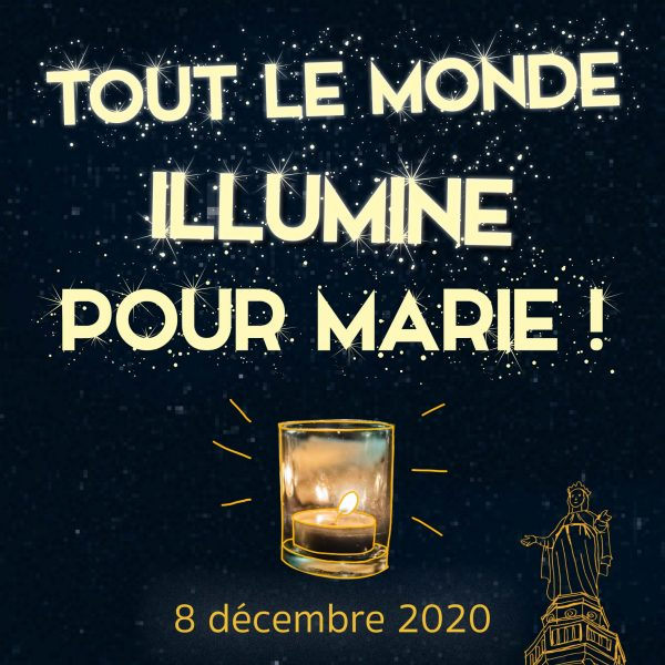 Initiative «S'il te plait Marie…» à l'occasion du 8 décembre