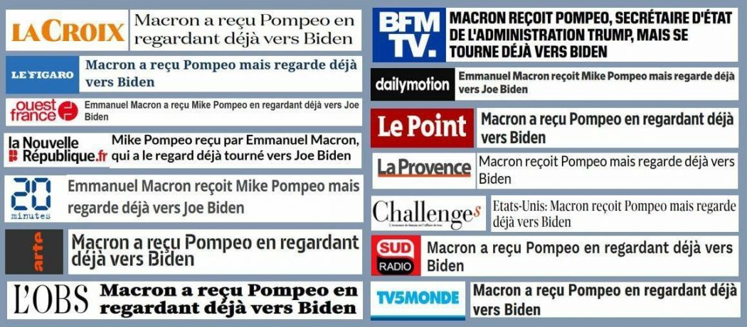 "La presse ""copié-collé"""
