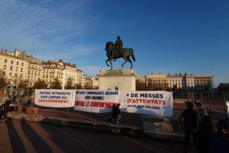 « Rendez nous la liberté » : manifestation pour la messe à Lyon