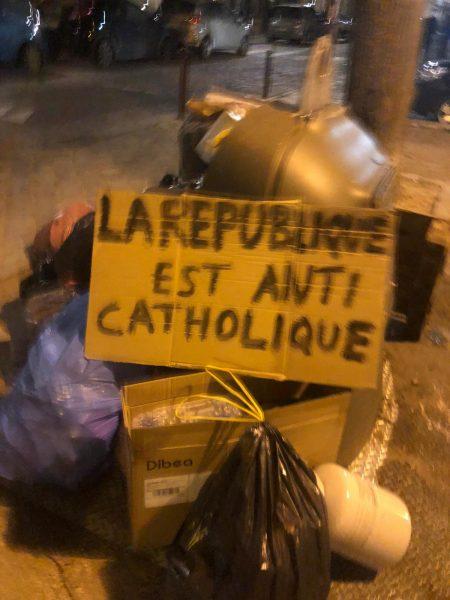 A Saint-Sulpice, les manifestants ont pu prier