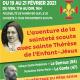 Récollection scoute sainte Thérèse de l'Enfant-Jésus 19-21 février 2021 – Le Barroux (84) et La Garde (47)