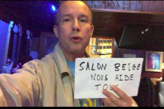 Daniel Rabourdin soutient le Salon beige