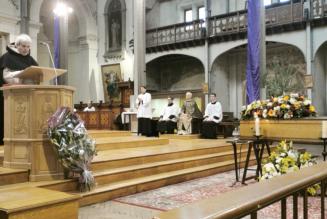 Sermon aux Obsèques de Daniel Hamiche : Transiit nos laetificando