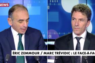 """Eric Zemmour face à Marc Trevidic : """"Il faut arrêter totalement l'immigration et dire aux musulmans que l'islam n'est pas compatible avec la France"""""""