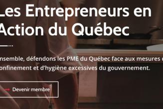 Des entrepreneurs québécois contre la dictature sanitaire