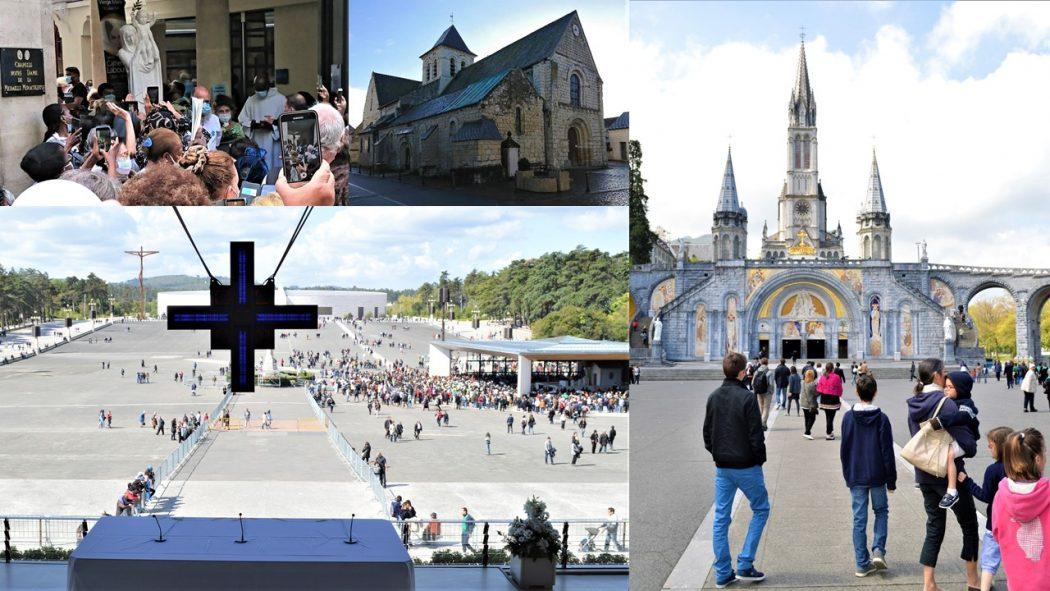 De la rue du Bac à Fatima, en passant par l'Ile-Bouchard et Lourdes