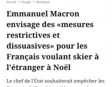 Macron va (enfin) rétablir le contrôle aux frontières…