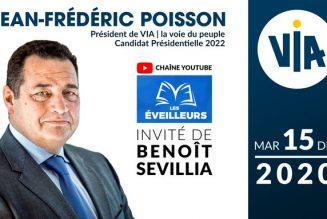 Jean-Frédéric Poisson évoque l'actualité, marquée par les prémices d'une crise sociale et économique majeure