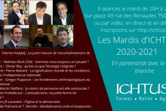 """Offrez le parcours """"Les Mardis d'Ichtus"""""""