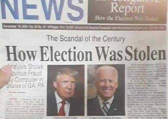 """""""Toutes les anomalies statistiques sont toujours tombées en faveur de Biden, jamais de Trump, ce qui est statistiquement impossible"""""""