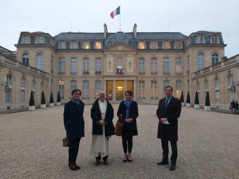 Les Associations Familiales Catholiques reçues à l'Élysée