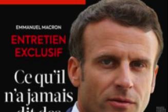 Emmanuel Macron dans L'EXPRESS, ou le cloaque d'un ego à ciel ouvert