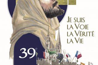 Pèlerinage de Chartres sur le thème «Je suis la voie, la vérité, la vie»