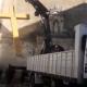 Espagne : destruction d'une croix devant un couvent