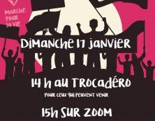 Marche pour la vie : 14h au Trocadéro ou à 15h sur Zoom
