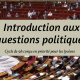 """Ichtus lance un nouveau cycle intitulé """"introduction aux questions politiques"""""""