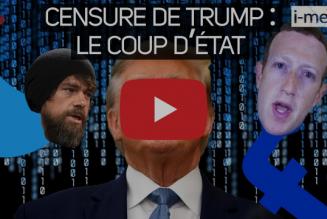 I-Média – Censure de Donald Trump : le coup d'État de la gauche et des GAFA