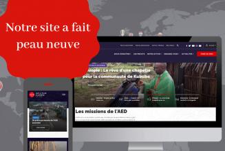Le site de l'Aide à l'Eglise en Détresse fait peau neuve