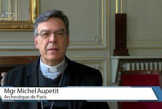 Marche pour la vie : Mgr Michel Aupetit encourage chacun à manifester ou à se manifester