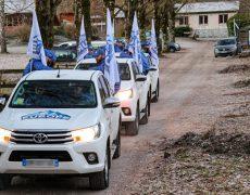Génération Identitaire vient sécuriser la frontière des Pyrénées