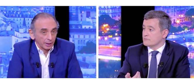 """Zemmour face à Darmanin : """"Il n'y a pas d'islamisme sans islam et pas d'islam sans immigration"""""""
