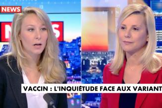 Marion Maréchal : « On ne peut pas mettre la société sous cloche éternellement. »