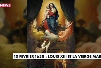 Le voeu de Louis XIII au menu de Face à l'info, sur CNews