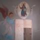 Fresque orientale, peinture murale, trompe l'œil d'art sacré par Jean-Joseph Chevalier à Ste Maxime