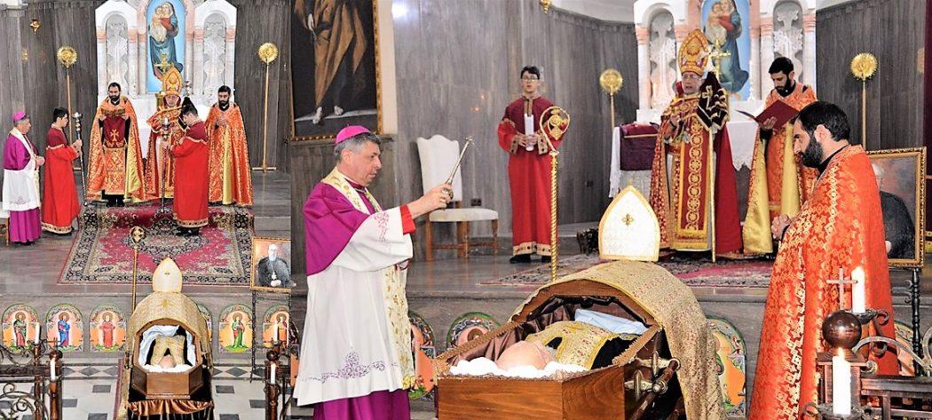 Mgr Nechan Karakéhéyan est parti vers le Père