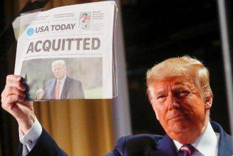 Procès en destitution de Donald Trump : ils sont bien embêtés par cette mascarade maintenant…