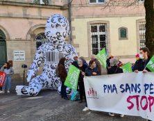 Les opposants à la loi bioéthique se font entendre à Rodez