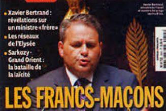Xavier Bertrand, franc-maçon de 1995 à 2015 (?), candidat à la présidentielle de 2022