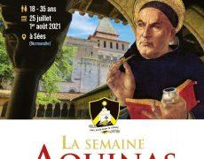 25 juillet – 1er août : la semaine Aquinas