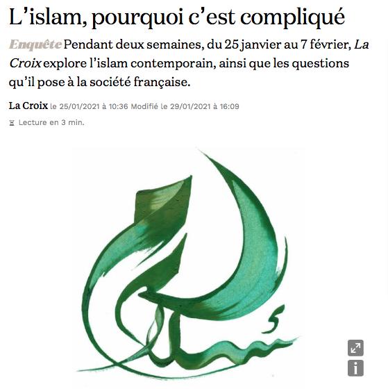 Quand La Croix fait un dossier sur « L'islam, pourquoi c'est compliqué » mais évite tout ce qui pourrait fâcher