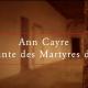 Complainte des Martyres d'Orange