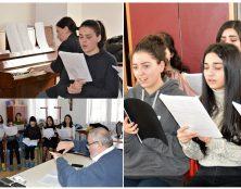 La chorale Notre-Dame d'Arménie en tournée
