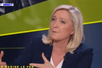 """Marine Le Pen contre la GPA : """"C'est une dérive mortelle pour notre société"""""""