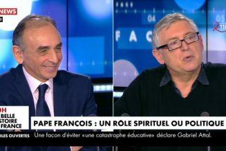 """Michel Onfray : """"Je crois que nous allons vers une guerre civile"""""""