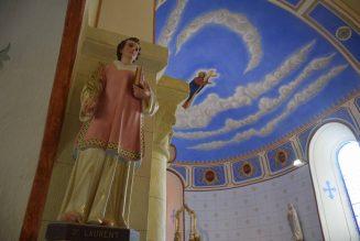 Magnifique rénovation de l'église de Tiviers (Cantal)