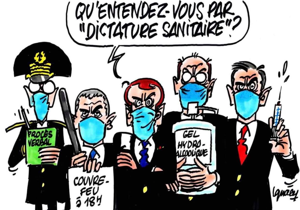Dictature sanitaire : Attention au réveil de la jeunesse ! - Le Salon Beige
