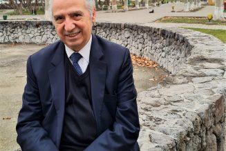 Le pasteur René Léonian en mission dans le Caucase