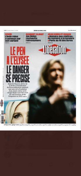 Libération surfe sur la peur