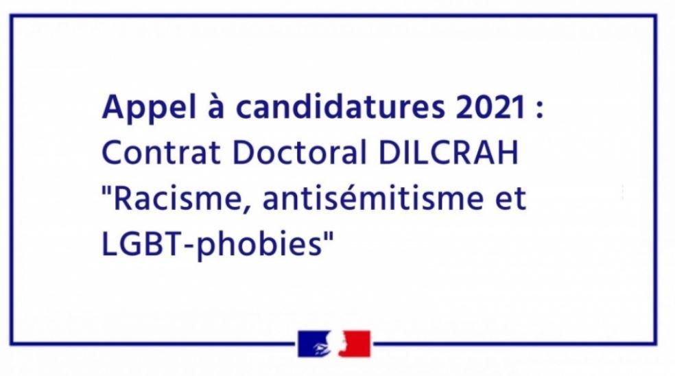 """Le ministère de l'Enseignement supérieur recrute pour un doctorat """"Racisme, antisémitisme et LGBT-phobies"""""""