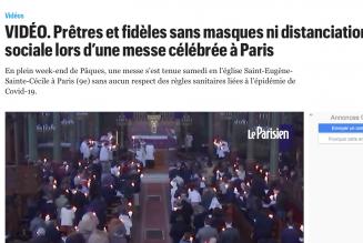 Coup bas sanitaire contre la paroisse Saint-Eugène-Sainte-Cécile