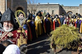 Divine liturgie en Arménie