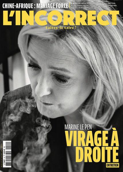 Marine Le Pen : malgré la désinformation, le peuple français s'aperçoit que la moitié de ce qu'on lui raconte relève de l'idéologie