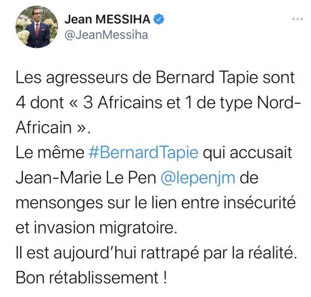 """Jean Messiha : """"Au nom de quoi devrais-je donc taire le réel ?"""""""