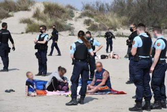 Opération anti-terroriste sur la plage…