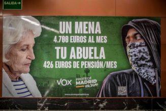 Un mineur étranger coûte 4700 € par mois / Ta grand-mère 426 € de pension par mois