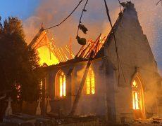 Eure : l'église de Romilly-la-Puthenaye est partie en fumée